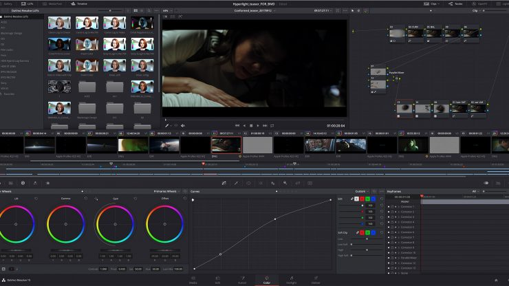 DaVinci Resolve 15 Color