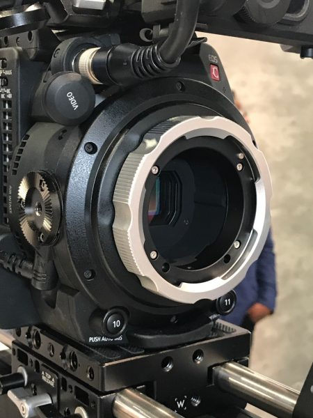 Wooden Camera Zip focus, Push Button Arri Rosette and C200 PL Mount