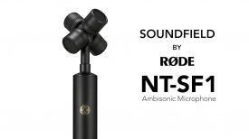 Introducing the SoundField by RØDE NT SF1 Ambisonic Microphone