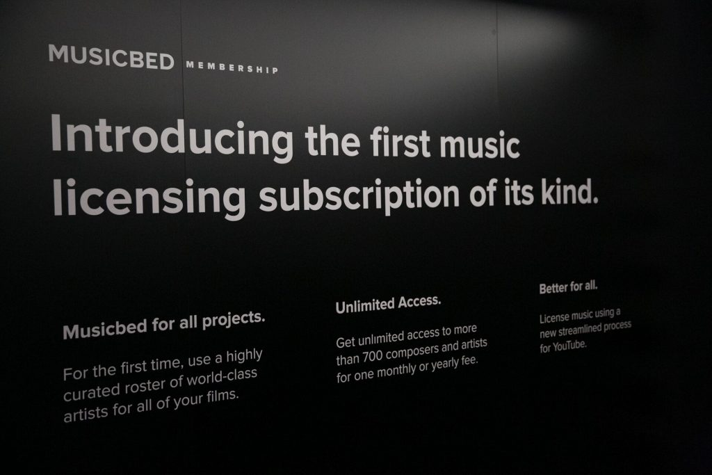 Musicbed subscription
