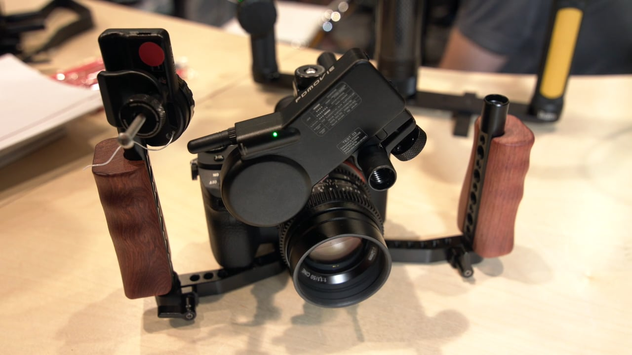 PDMOVIE Live Air wireless follow focus - Newsshooter