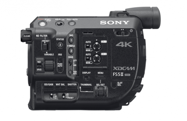Sony announces the FS5 II