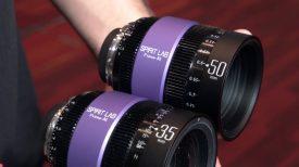 Spirit Lab prototype bigger than full frame cine lenses Newsshooter at NAB 2018 1
