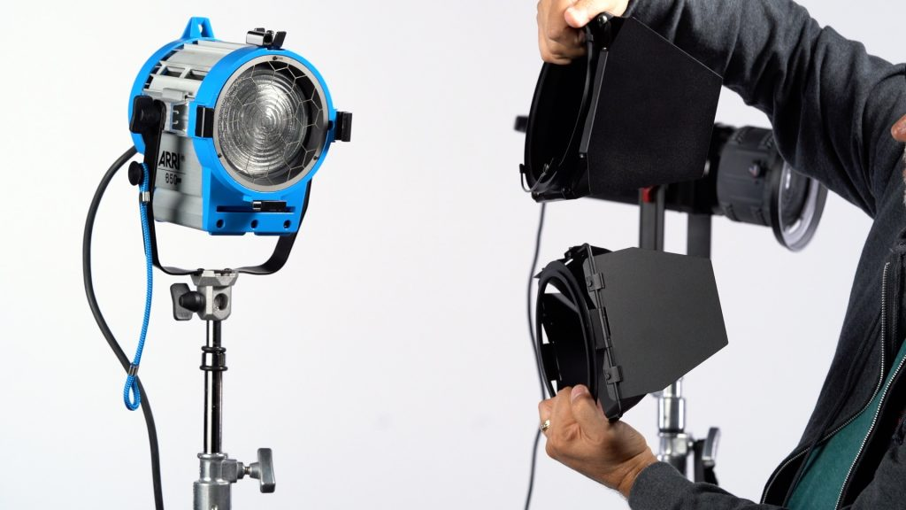 Barndoors ARRI side by side fixture