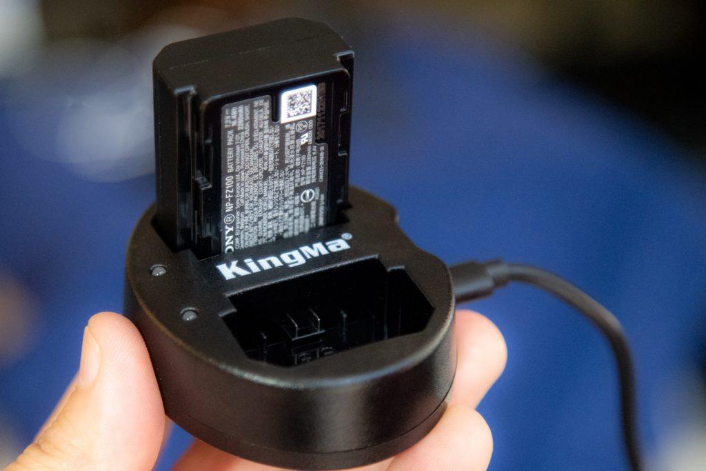 KingMa Dual battery Charger Sony a7 III