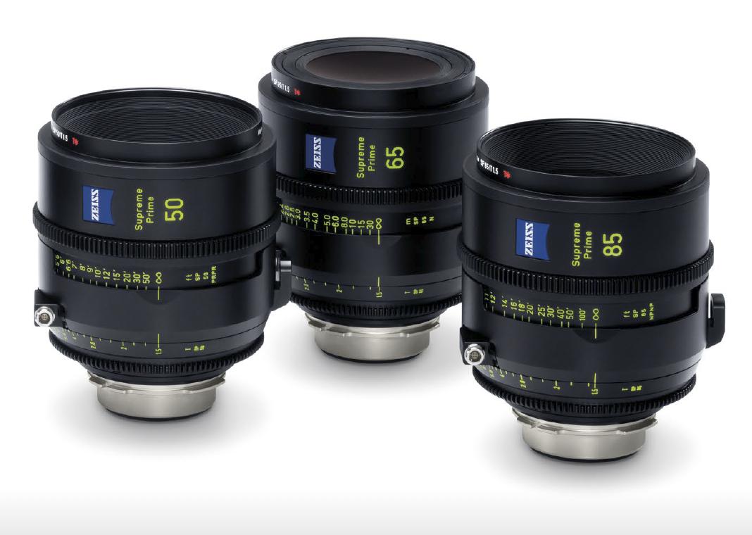 ZEISS announces Supreme Prime Lenses for Large-Format