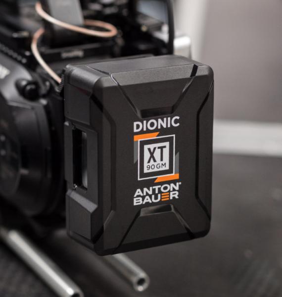 Anton Bauer Dionic XT Li-ion batteries