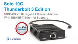 Sonnet Solo 10G Thunderbolt 3 Edition Quick Product Overview