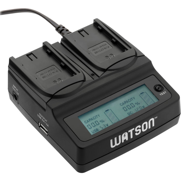 Watson dual charger a7 III Battery