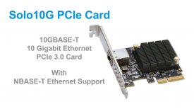 Sonnet Solo10G PCIe Card Quick Product Overview