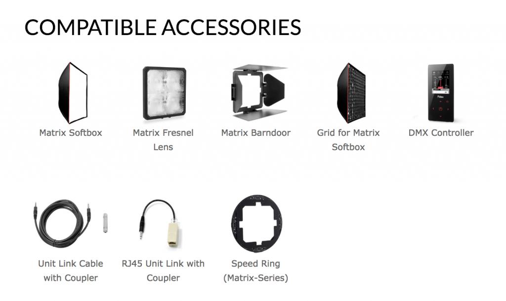 Fiilex Matrix Accessories