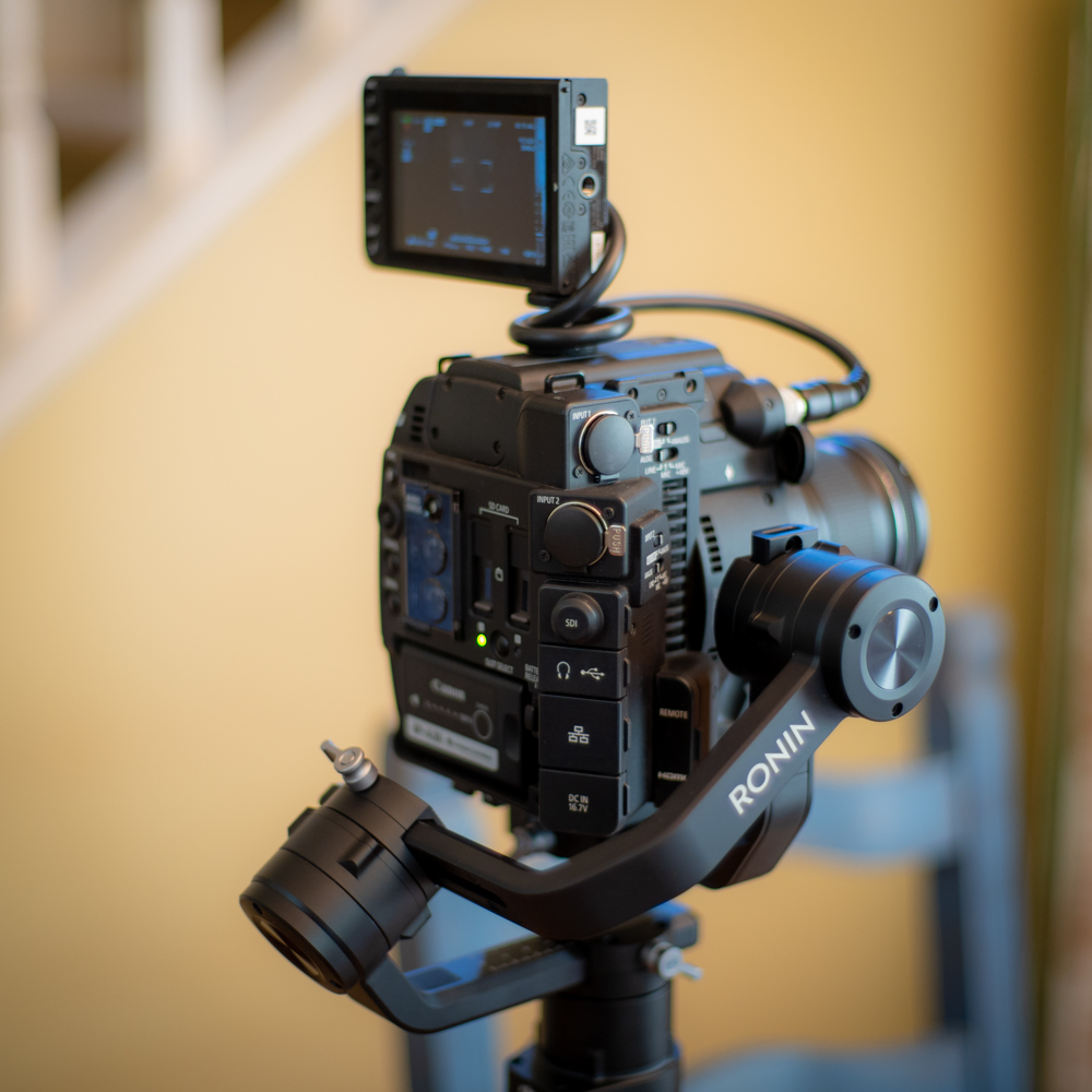 Ronin-S With C200B with LCD