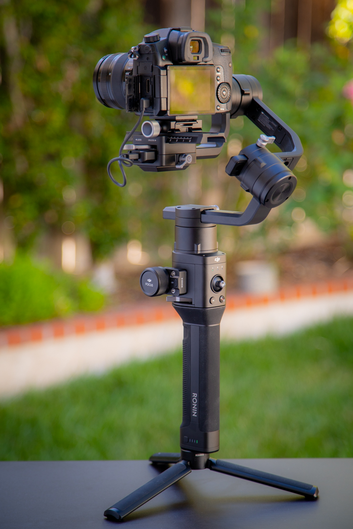 BG37 Grip for DJI Ronin-S,Makes Ronin-S Compatible for Handheld Use