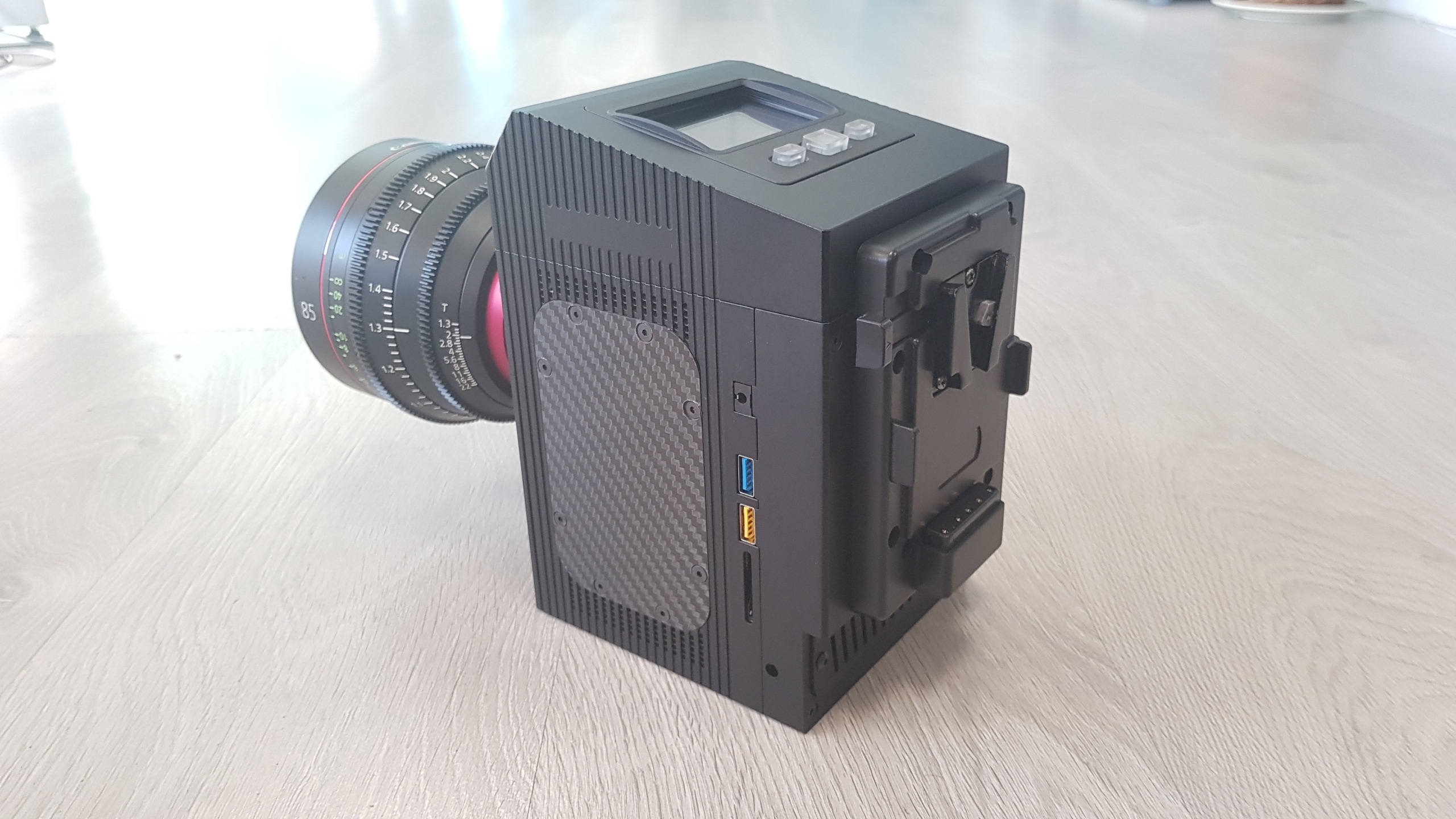 More Details Emerge About The Cinemartin Fran 8k Newsshooter Camera Lens And Circuit Board Digital Photography Concept