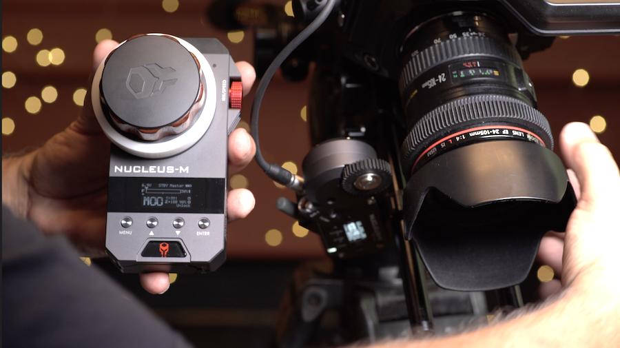 Nucleus-M Motor Cal Still lenses