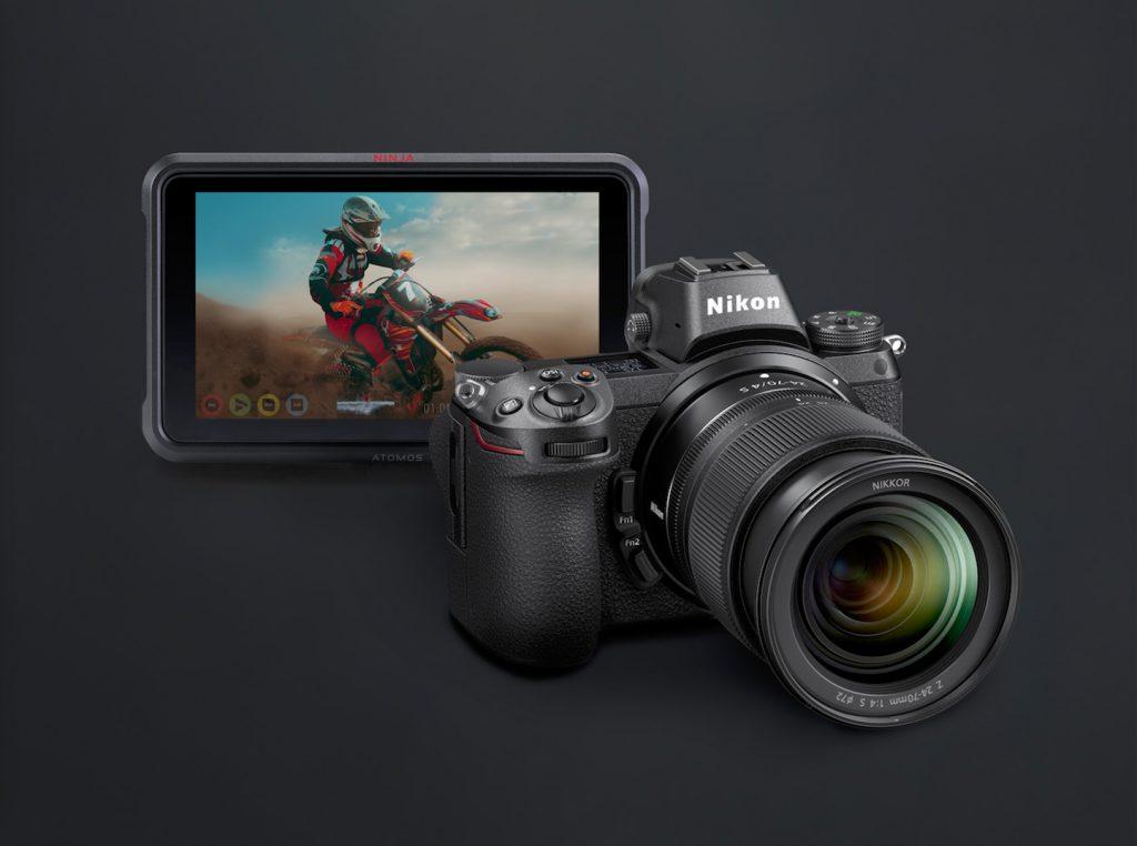 Atomos Ninja V & Nikon Z6 and Z7 - 4K 10-Bit 4:2:2 Full
