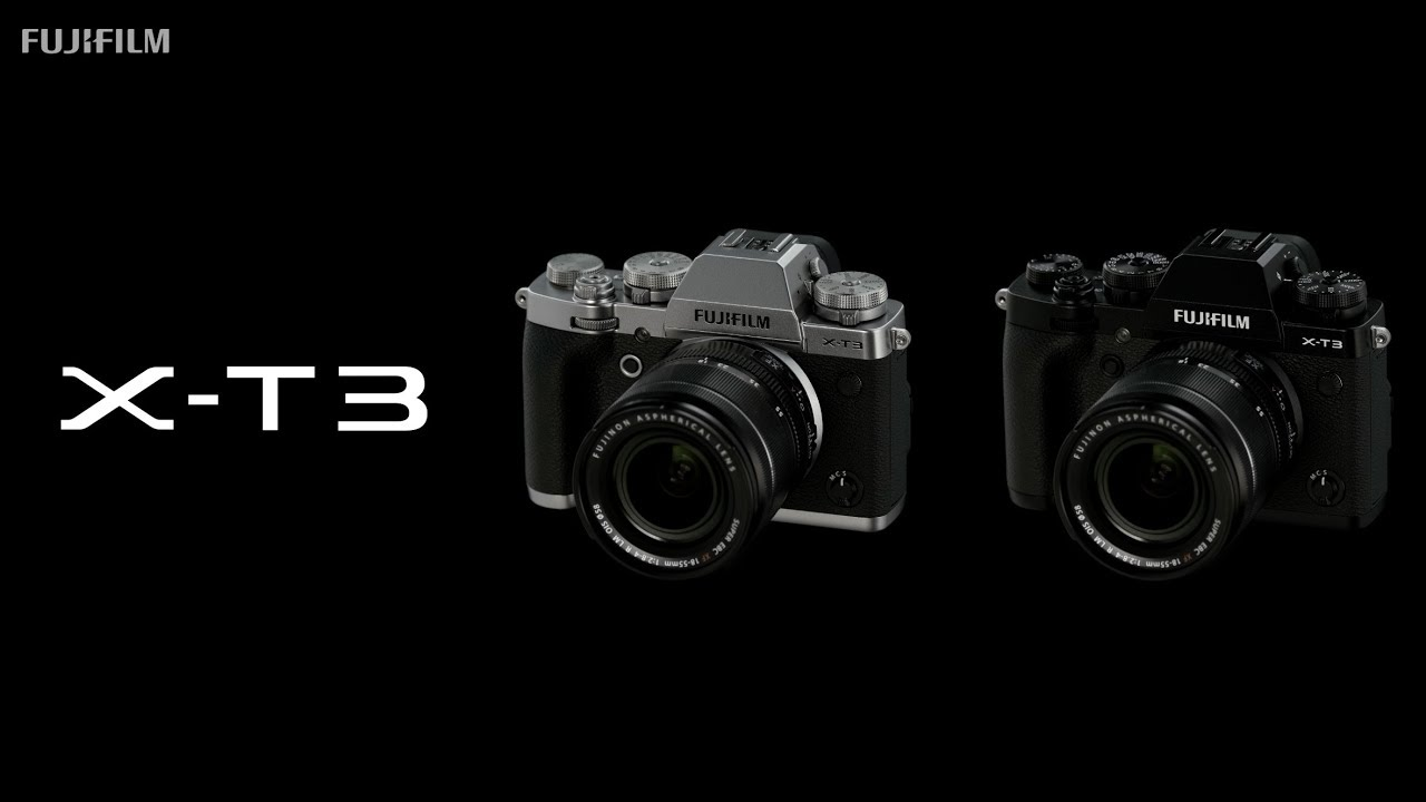 Fujifilm X-T3 Announced - 4K60 with 10-bit output - Newsshooter