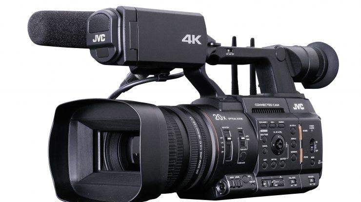 JVC GY HC500 camcorder