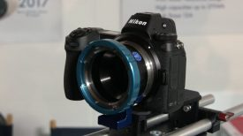 MTF Services Nikon Z mount lens adapters – IBC 2018