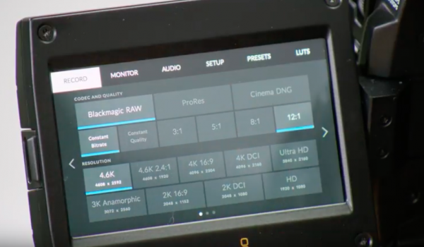 Blackmagic Raw Announced Newsshooter