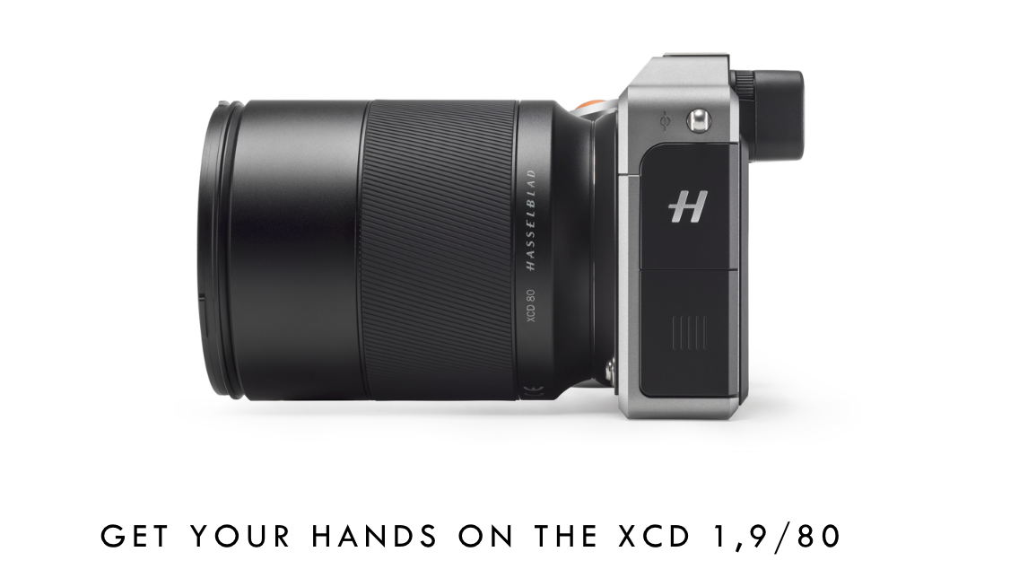 Hasselblad announces three new XCD lenses including fast 1,9/80