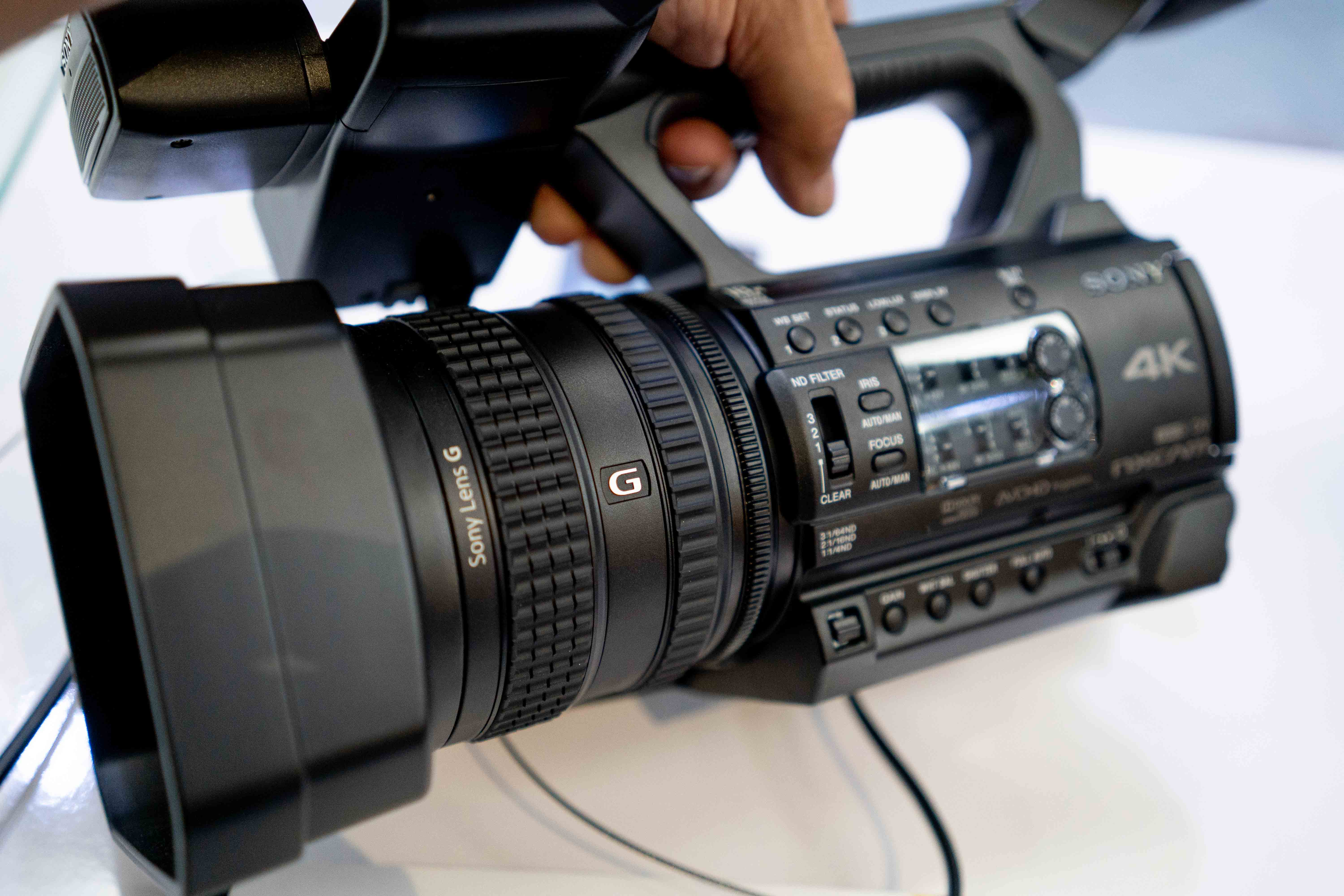 Sony Nx200 4k Camcorder Ibc 2018 Newsshooter