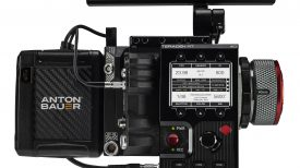 Teradek RT ACI White Front On Camera