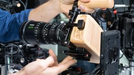 Wooden Camera Pocket 4K cage bottom