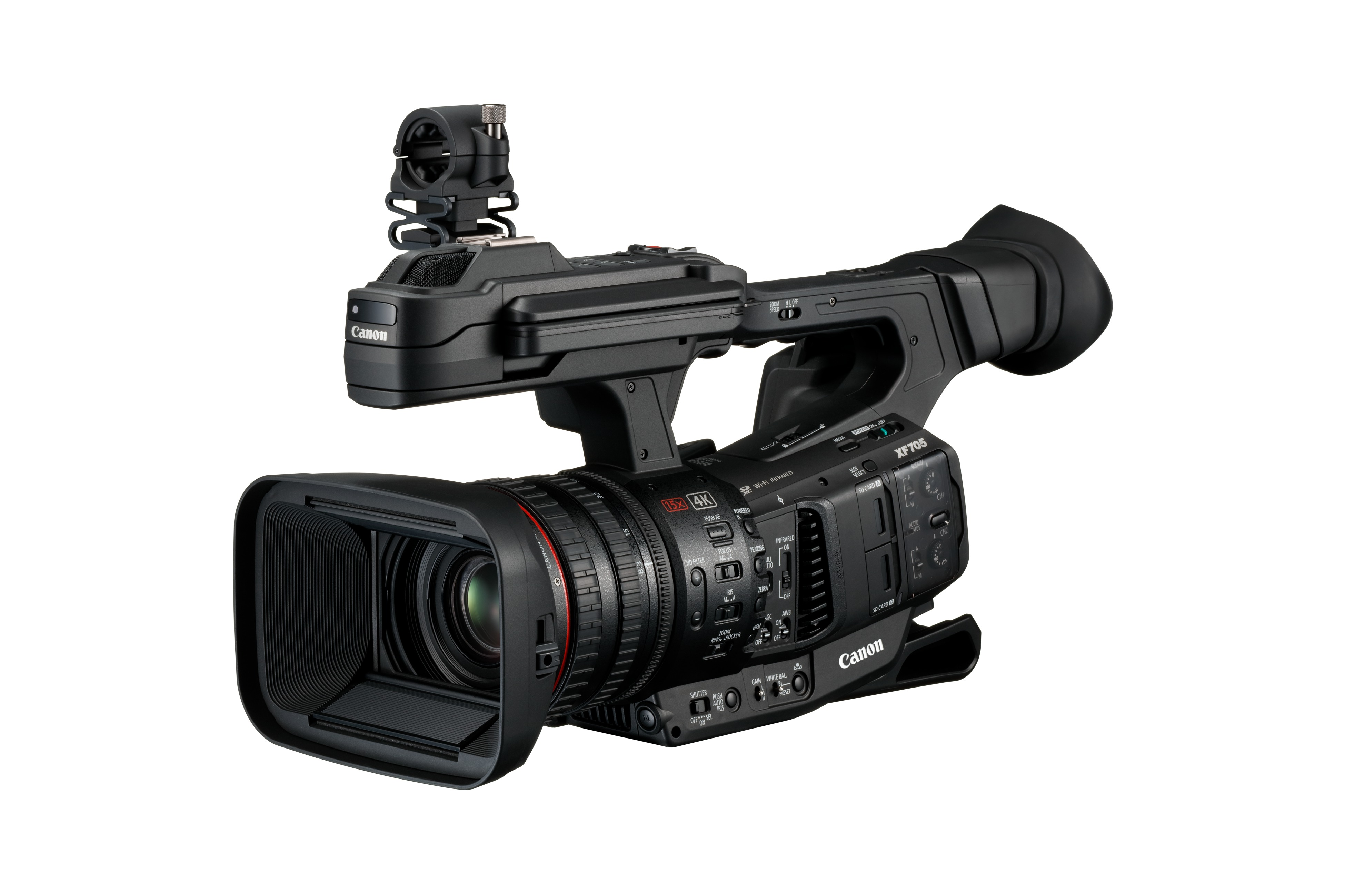 Canon XF705 with 4K 50P 4:2:2 10-bit XF-HEVC recording - Newsshooter