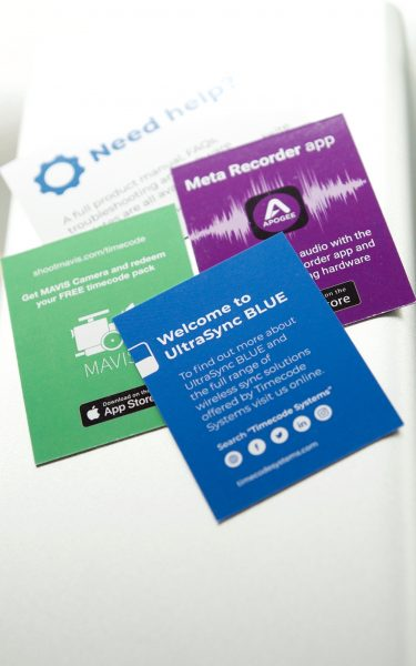 Timecode Systems UltraSync BLUE hands-on review - Newsshooter