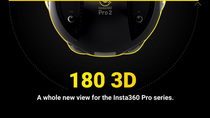 Insta360 adds 180° 3D Capture to Pro Camera Series - Newsshooter
