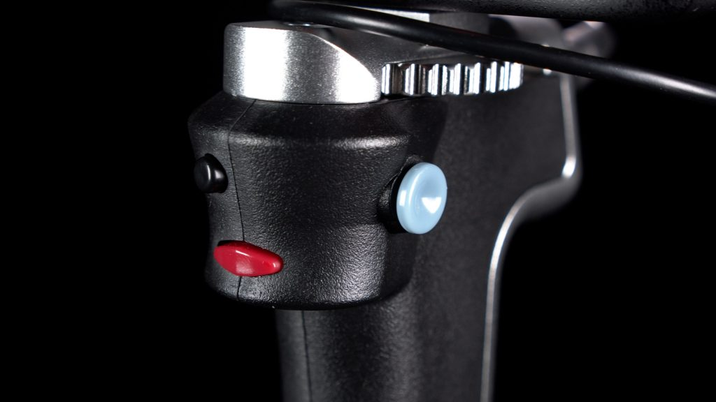 CameoGrip trigger and joystick