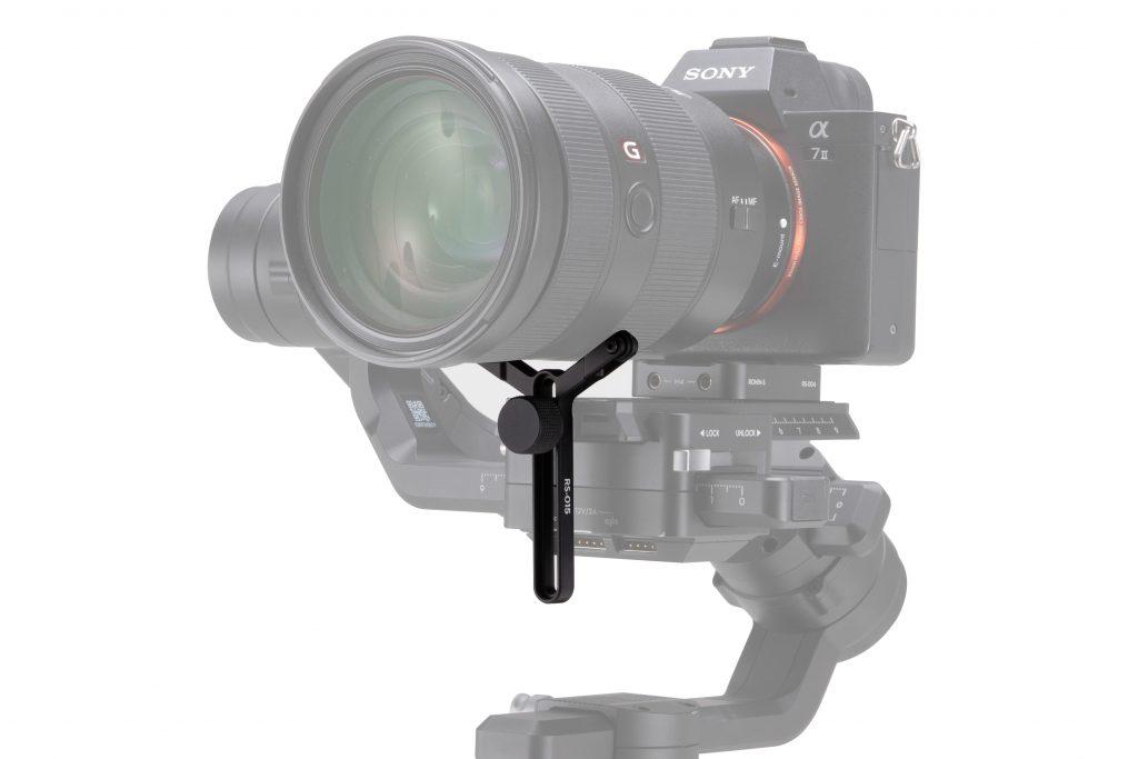 DJI Ronin-S Extended Lens Support