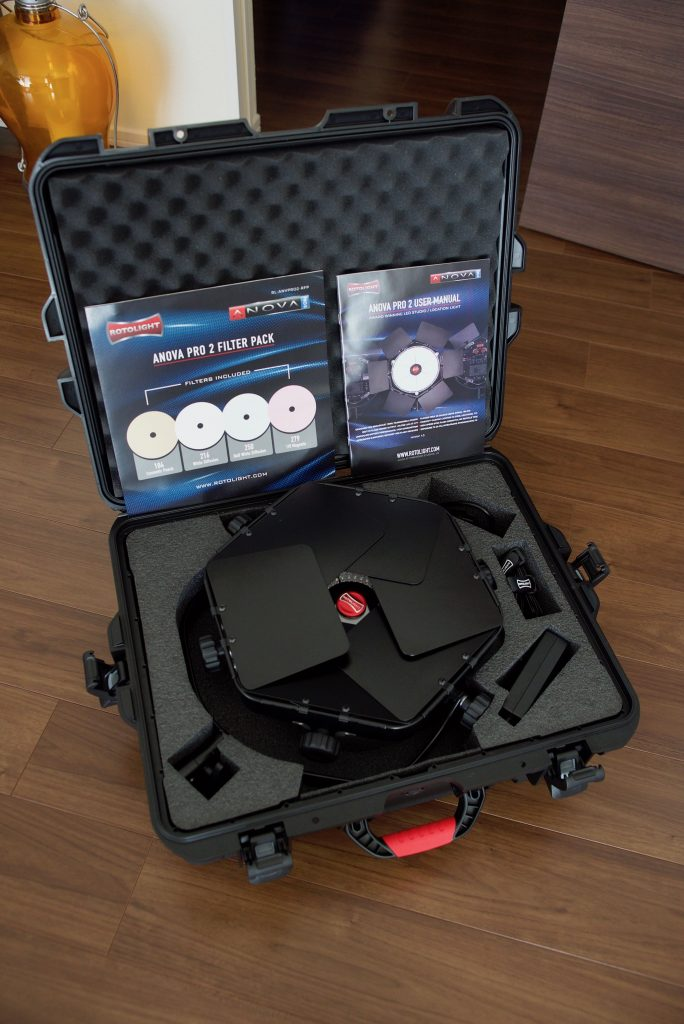 Rotolight Anova Pro 2 LED Light DMX Master Kit