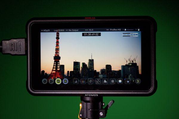 Ninja V 5 inch screen