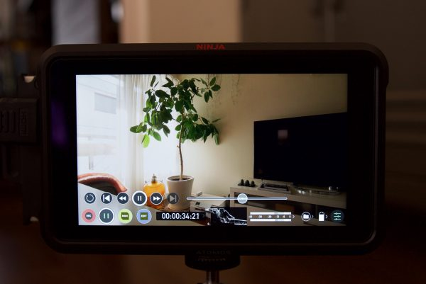 Atomos audio channels