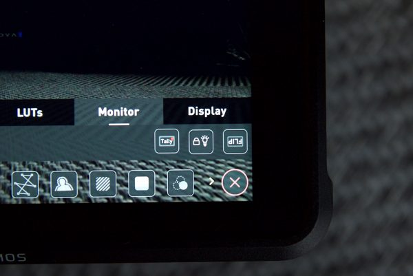 Atomos display options