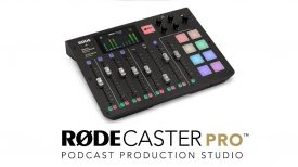 Introducing the RØDECaster Pro Podcast Production Studio
