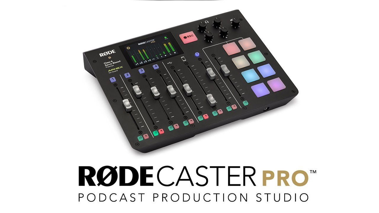 RØDECaster Pro - Integrated Podcast Production Studio