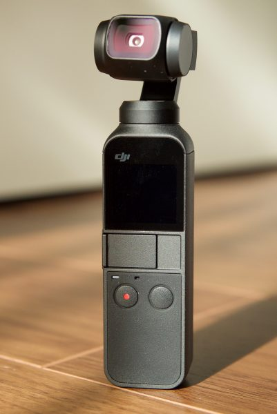 DJI Osmo Pocket tiny size