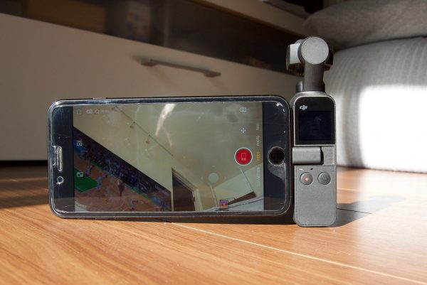 DJI Osmo Pocket phone