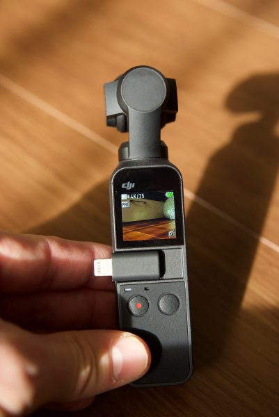 DJI Osmo Pocket buttons