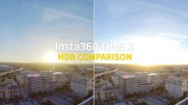 Insta360 ONE X HDR Video Comparison