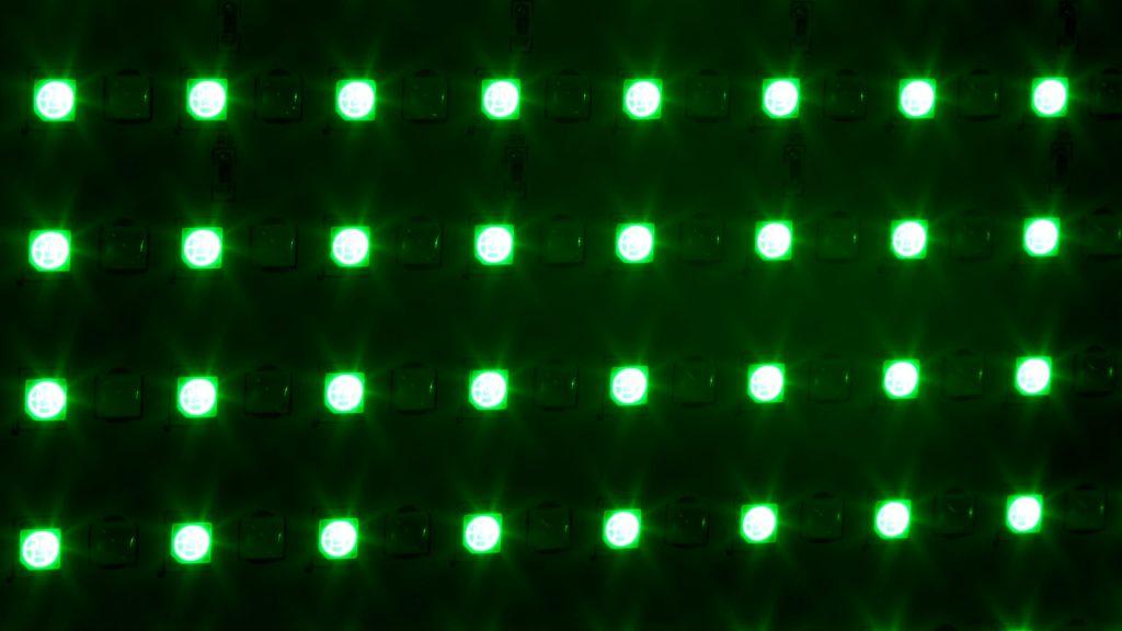 LC RGBW Green LED