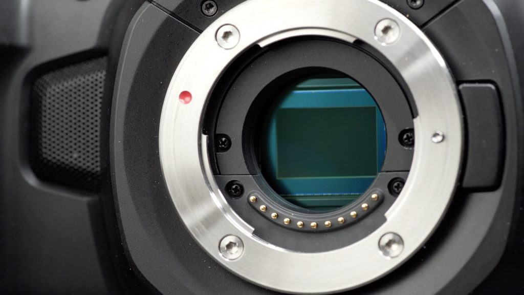 Blackmagic Pocket Cinema Camera 4K Sensor