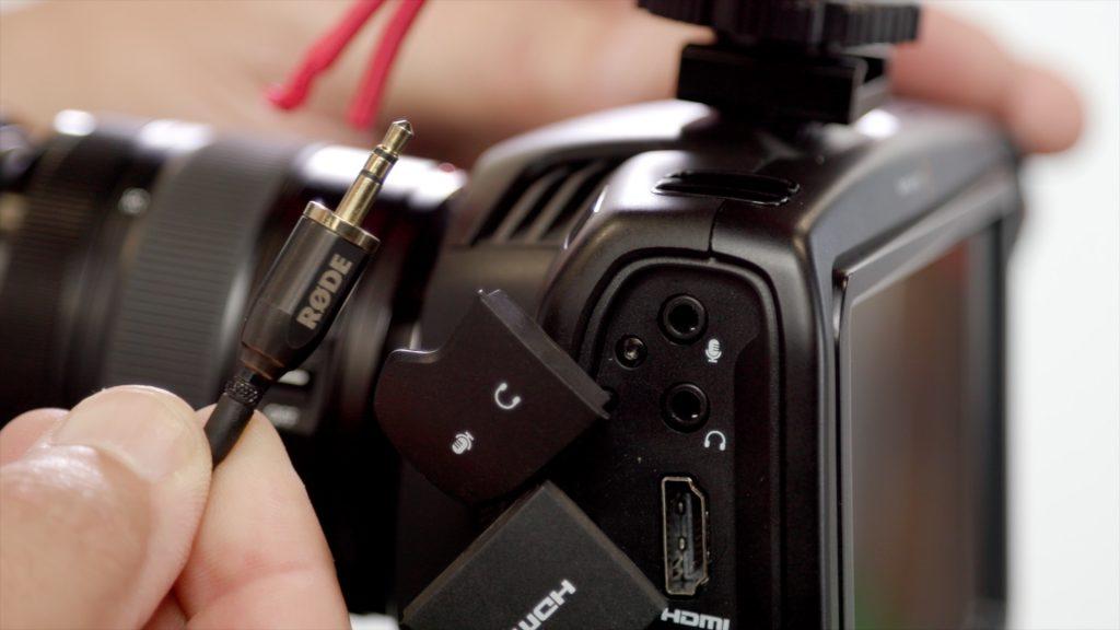 BMPCC4k mic input