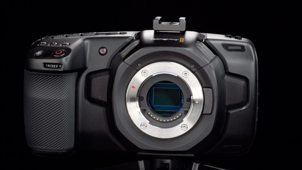 Blackmagic Pocket Cinema Camera 4K Camera no lens