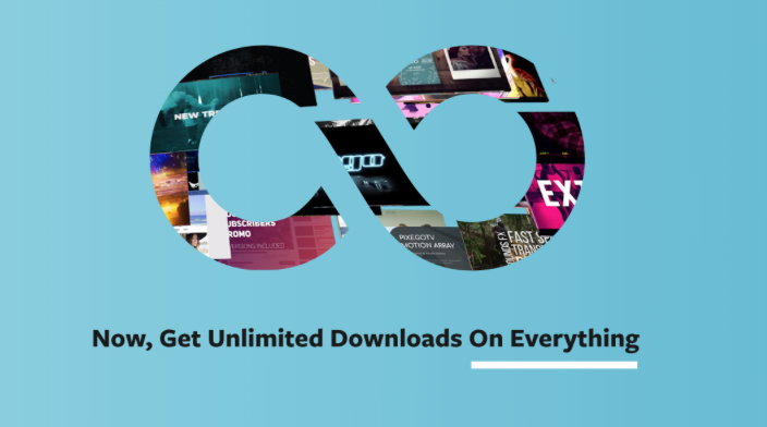 Motion Array Membership now includes unlimited downloads