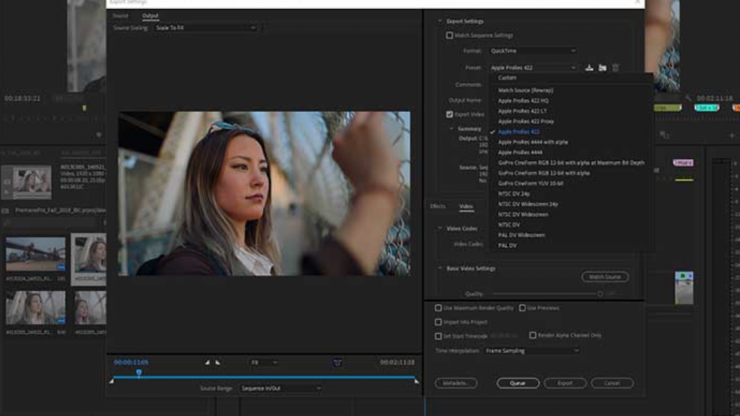 Premiere Pro CC 13 0 2 adds Apple ProRes export support for