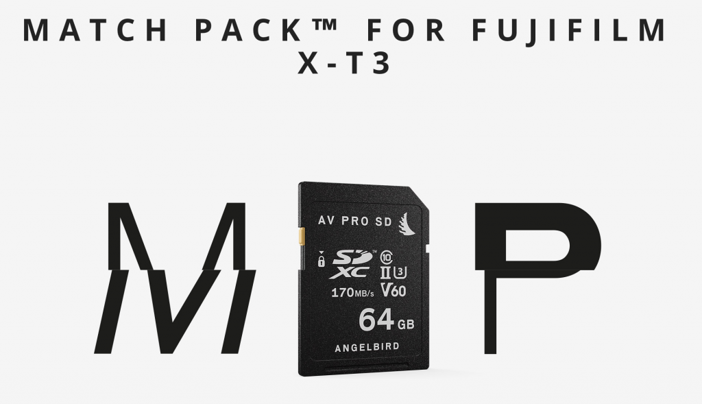 MATCH PACK FOR FUJIFILM X-T3